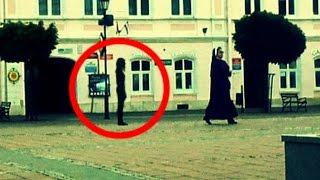 Ghost Nun Walks Through Apparition Random Haunted Video