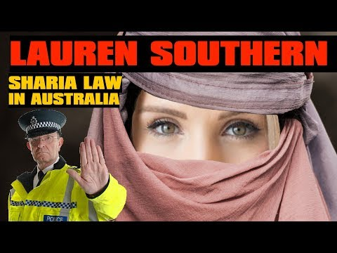SHARIA BLASPHEMY LAW IN AUSTRALIA | Lauren Southern Threatened By Police