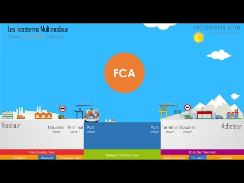 Incoterms 2010 :  FCA ( Franco Transporteur)