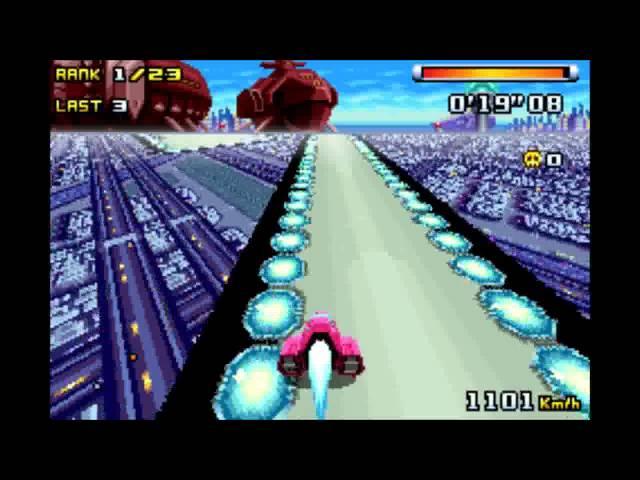 F-Zero Climax: Bronze Cup Queen Meteor gameplay 60fps