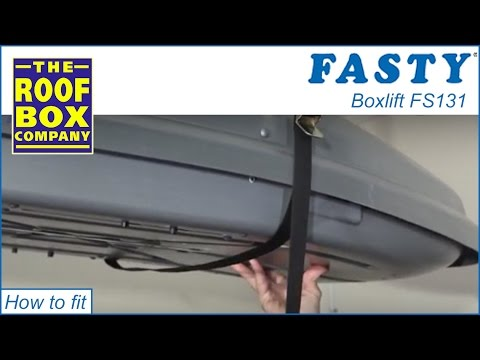 Fasty Roof Box Hoist Strap Youtube