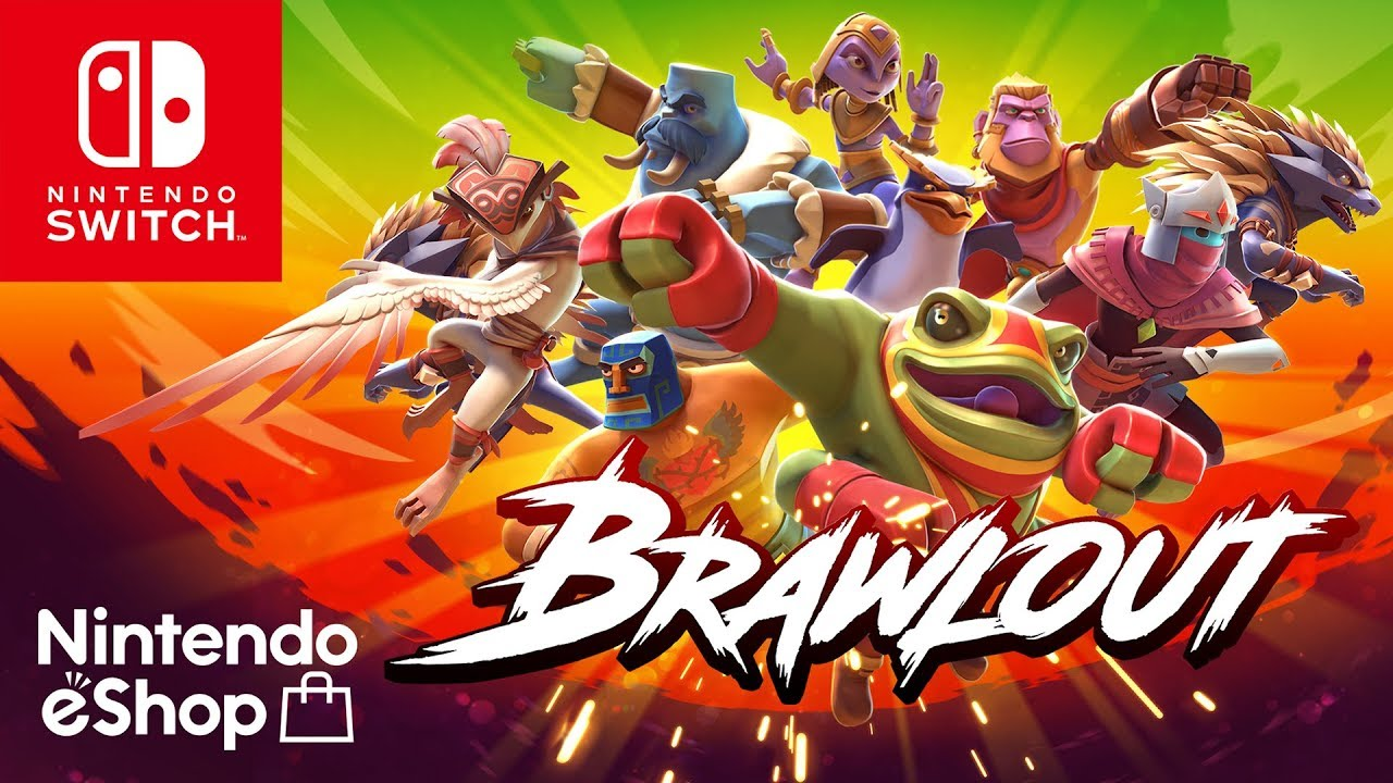 Brawlout is (Almost) Super Smash Bros  For Nintendo Switch - Geek com