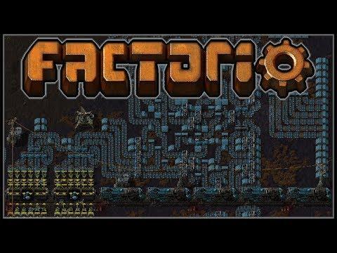 Factorio Recursion Recursion #18 - 48-Belt Iron Ore Outpost