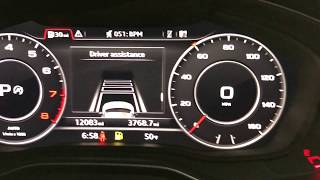 2018 Audi Self Driving System (Driver Assistance Pkg)