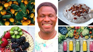 What I eat in a day as a VEGAN! Healthy, Fun, & Easy!