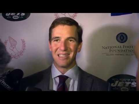 Eli Manning talks ex-Jets and new Giants Brandon Marshall and Geno Smith