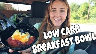 Keto Fast Food Review | Hardee's: Low Carb Breakfast Bowl