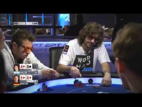 Покер на русском 2014 EPT 10 Barcelona ч 1 С русскими комментариями Городецкого
