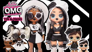 OMG Yin & Yang Makeover DIY 2 Dolls In 1 Video Big Sister OMG Fashion Doll