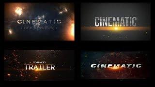 AFTER EFFECTS sinematik Başlıklar ÖĞRETİCİ
