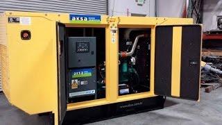 Дизельная электростанция (дизель генератор) AKSA APD 110 C (80 кВт) в кожухе(Дизель-генераторы AKSA APD 110 C (номинальной мощностью 80 кВт и частотой 50 Гц) изготавливаются на основе английск..., 2016-12-19T13:52:56.000Z)
