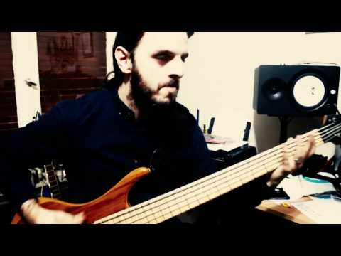 """Lelahell _ """"Alif"""" Recording : Part 2 Guitar, Bass and Vocals"""