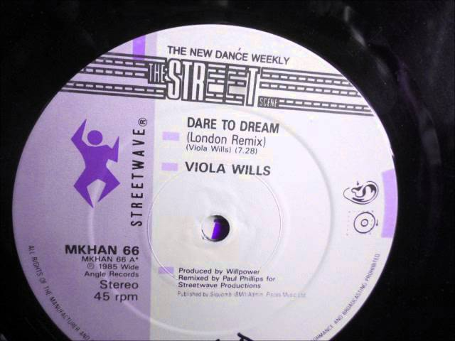 Viola Wills  - Dare to dream.  1985  (12