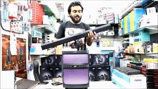 F amp D T200X Sound Bar Sound TEST Unboxing Review