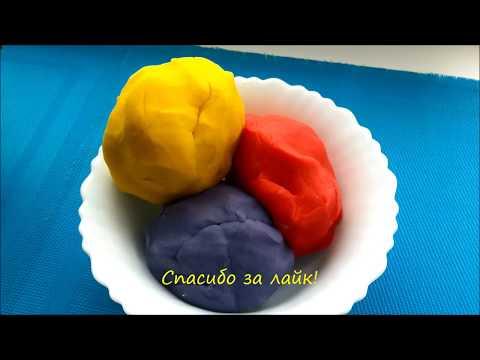 Вопрос: Как сделать тесто для лепки без использования винного камня?