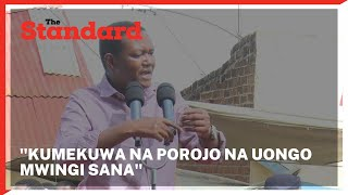 Governor Alfred Mutua urges those opposed to the BBI bill to stop misleading Kenyans