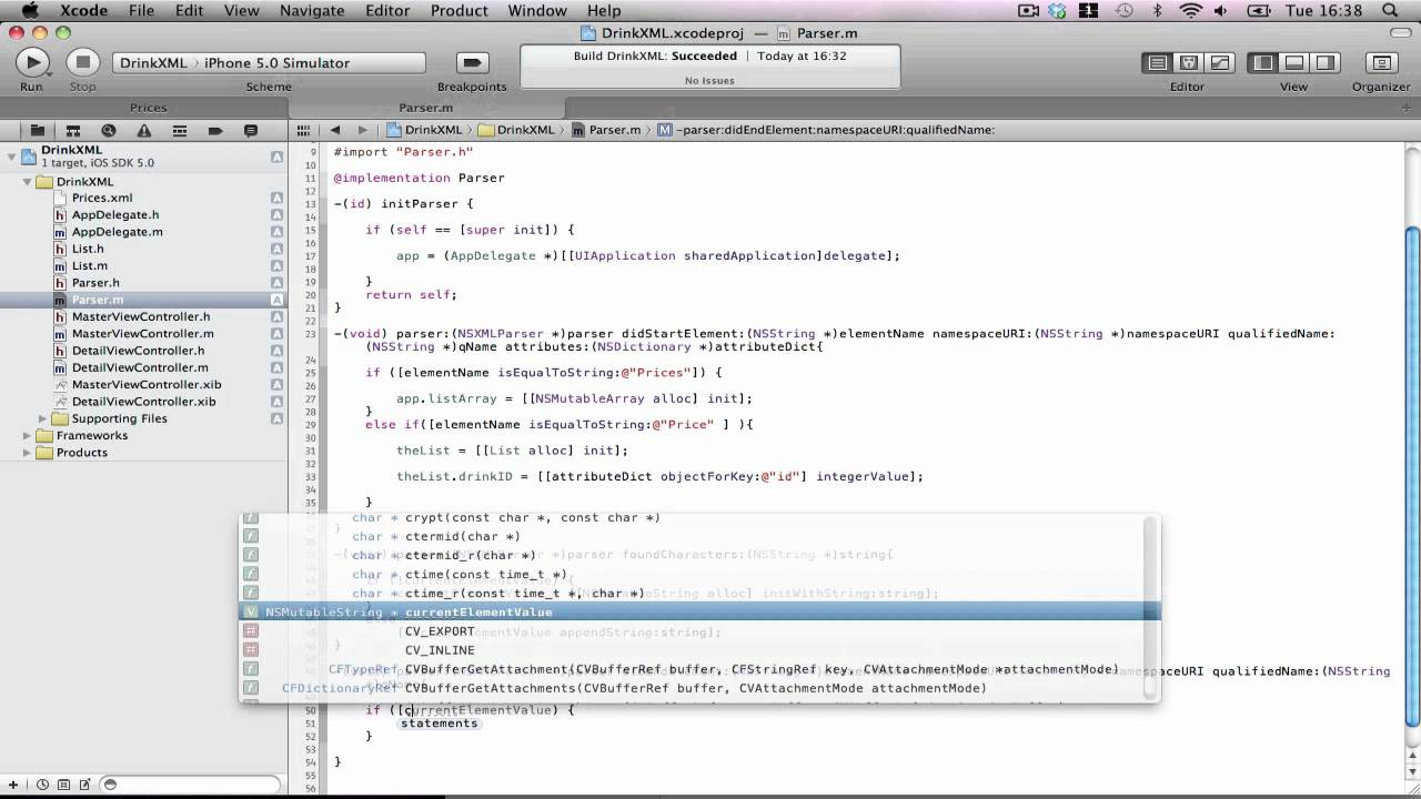 Xml tutorial for ios: how to read and write xml documents with.