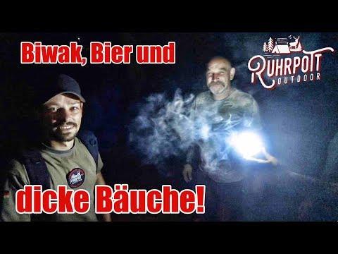 Biwak, Bier und dicke Bäuche! - 2/3 - Grillen am Fluss mit Ruhrpott Outdoor