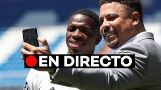 En directo: Presentación de Vinicius Junior con el Real Madrid