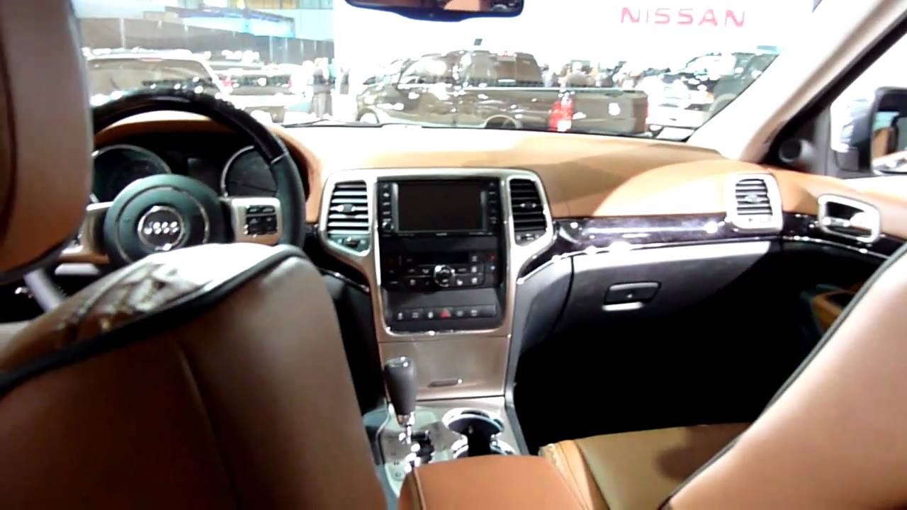 2011 Jeep Grand Cherokee Overland Summit Walk Around Nice Interior Youtube