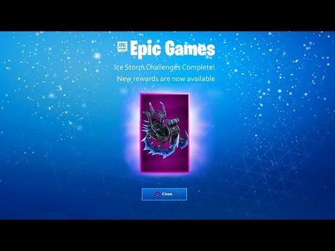 New *FREE* REWARDS in Fortnite Battle Royale! (SECRET Ice Storm Challenge Rewards)