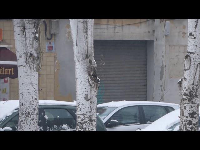 Nevant a Sabadell - Febrer 2018