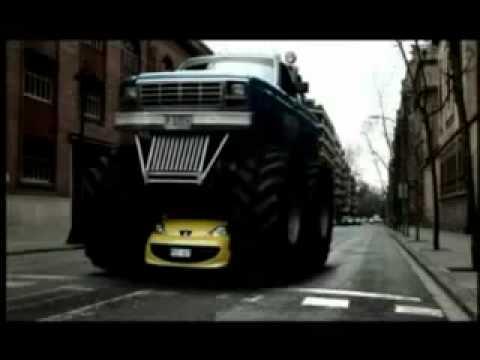 Mitica pubblicità Peugeot 107 - spot divertente auto commercial.MP4