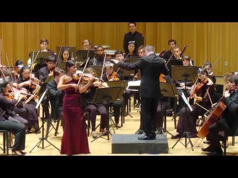 Beethoven  Violin Concerto in D major, Op. 61, 2nd mvmt with Elena Urioste