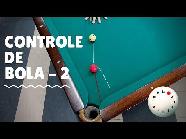 Como controlar a bola branca na sinuca (Efeito contra e a favor descontando efeito) - 2ª Parte