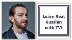 Learn Russian with TV! Konstantin Khabensky interview