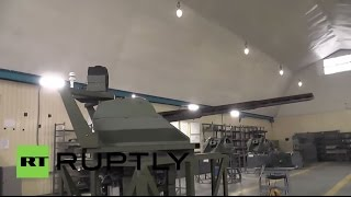 Russia: Engineers unveil new machine gun that can fire itself
