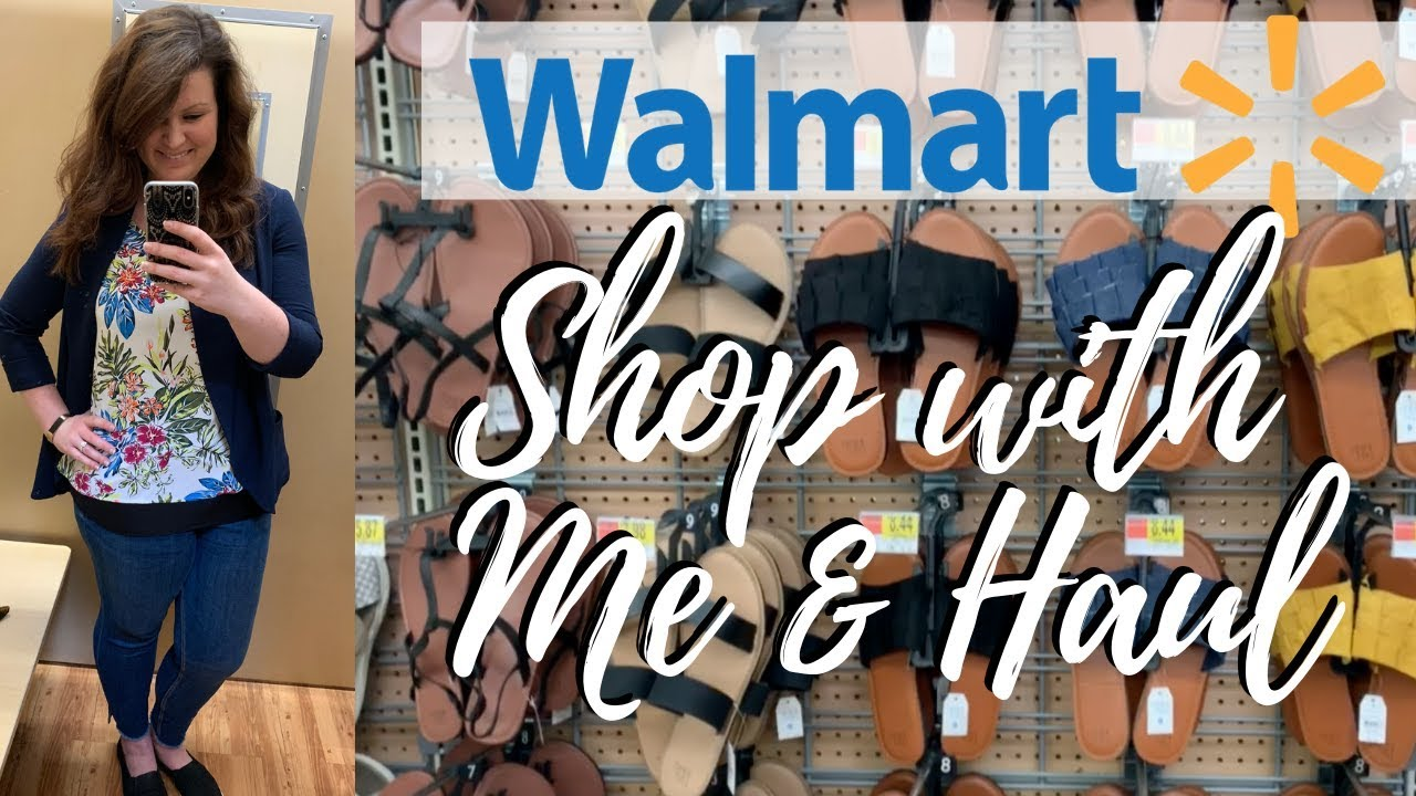 8bf7c613b93 Walmart Shop With Me & Haul | Summer 2019 Decor, Clothes, Shoes ...