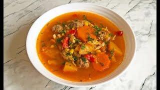 Мексиканский Суп / Mexican Soup / Мексиканская Кухня