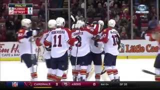 Campbell fires overtime winner past Mrazek