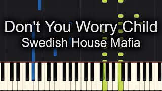🙌Sing Along! 🙌Don't You Worry Child Swedish House Maffia Piano Cover