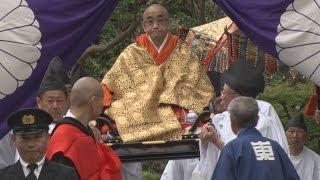 東大寺で晋山式 新別当の就任披露