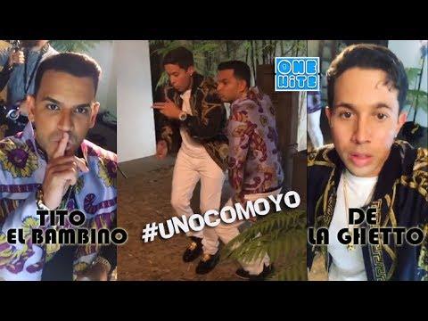 Tito el Bambino ft De La Ghetto - Dile La Verdad (Official Video Behind The Scenes)