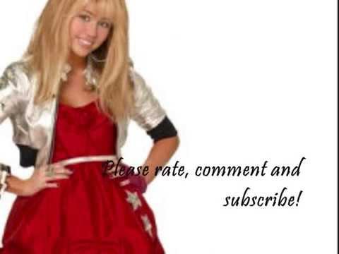"Hannah Montana Forever - ""Que Sera"" With Lyrics On Screen"