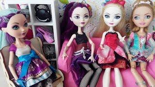 Мультик с куклами Барби и Эвер Афтер Хай Воспитание Эльки Barbie Мультики для девочек Куклы Шоу 38
