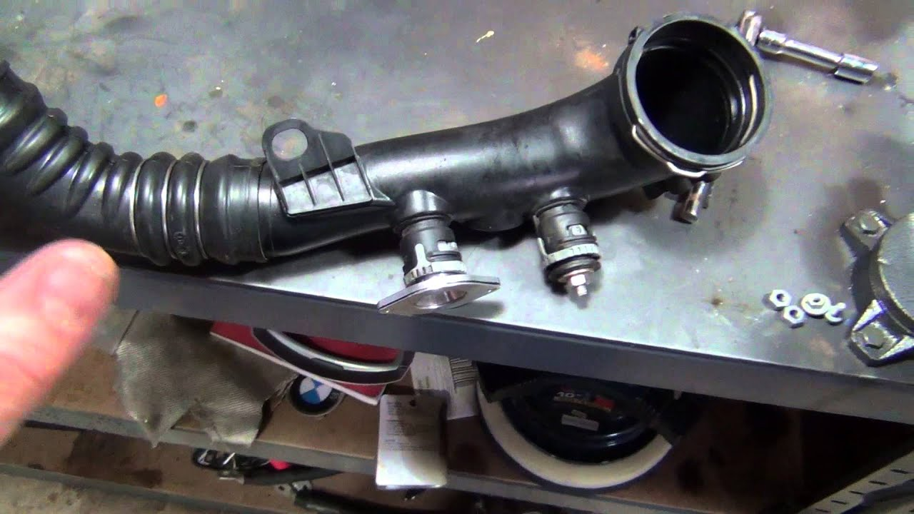 aftermarket bov on stock bmw n54 charge pipe info youtube. Black Bedroom Furniture Sets. Home Design Ideas