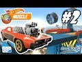 HOT WHEELS RACE OFF: MUSCLE - Lvl 25 - 27 - Racing FAILS and WINS - Truck and Car racing game