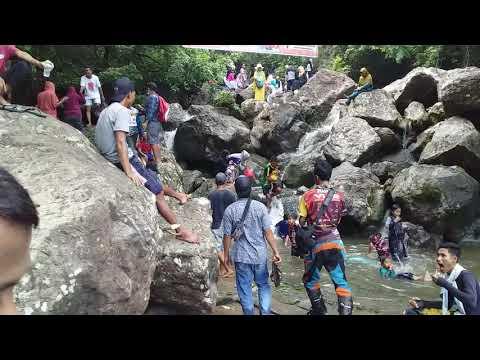 Air Terjun Kalate Mbaju Desa RISA . KAB. BIMA NTB