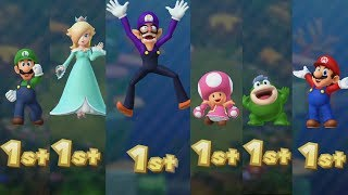 Mario Party 10 - All Characters - Coin Challenge #4