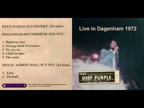 Deep Purple Dagenham 1972