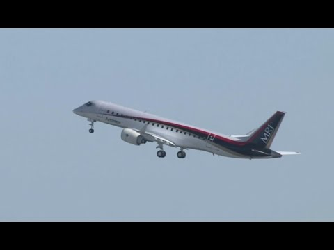 Japan's first ever passenger jet takes maiden test flight