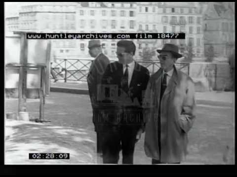 Regents Canal, Paris and A Car On A Film Set, 1960s - Film 18477