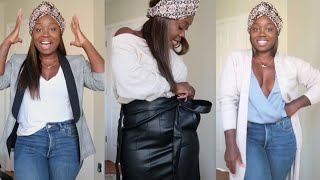 SIMPLE & EFFORTLESS LOOKS FOR LESS |  EXPRESS FALL TRY ON HAUL 2019