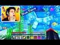 Video I Found Blue Steve Underwater in Minecraft! (MCPE)