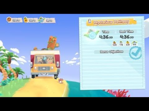 [Moving Out - Movers in paradise DLC] Platinum medal #7 - Mysterious Pathway (Solo) |
