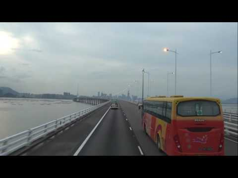 From Hong Kong to Shenzhen (Tin Shui Wai to Shenzhen Bay Port)